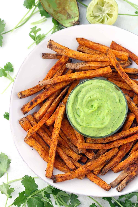 Crispy-Baked-Sweet-Potato-Fries-with-Avocado-Cilantro-Sauce-3.jpg